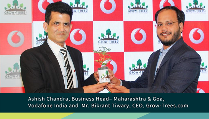 Kanha-Pench reforestation project by Grow-Trees.com and Vodafone India