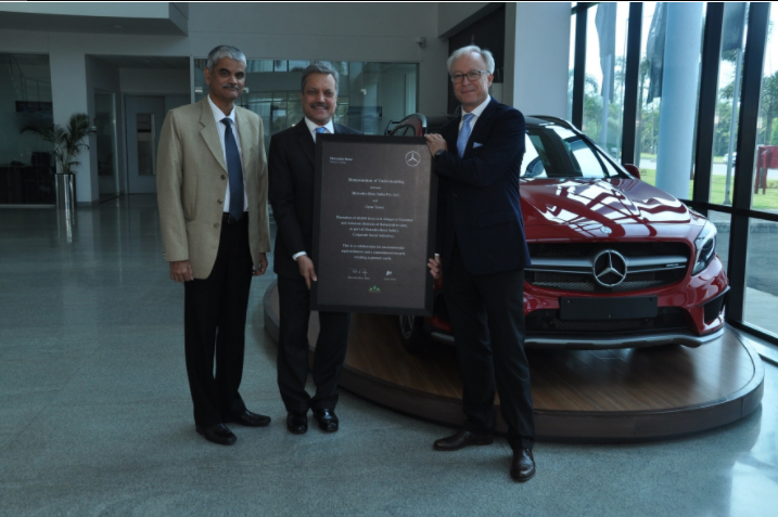 Investing in a green future: Mercedes-Benz India and Grow-Trees.