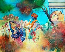 Bringing to life the colours of Holi